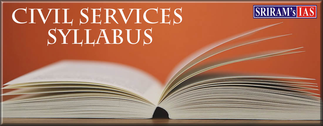 Civil Services Syllabus