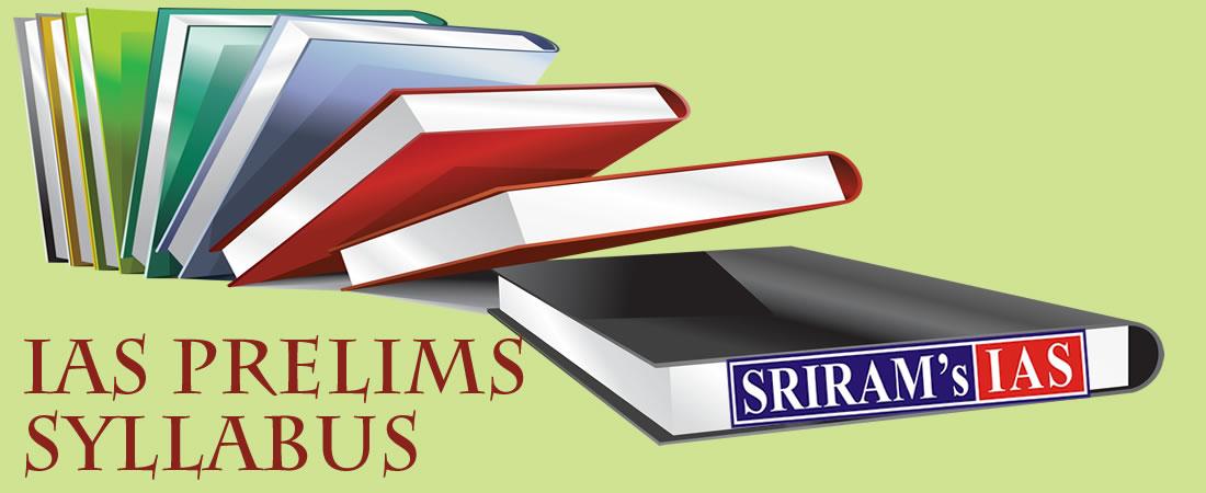 IAS Prelims Syllabus