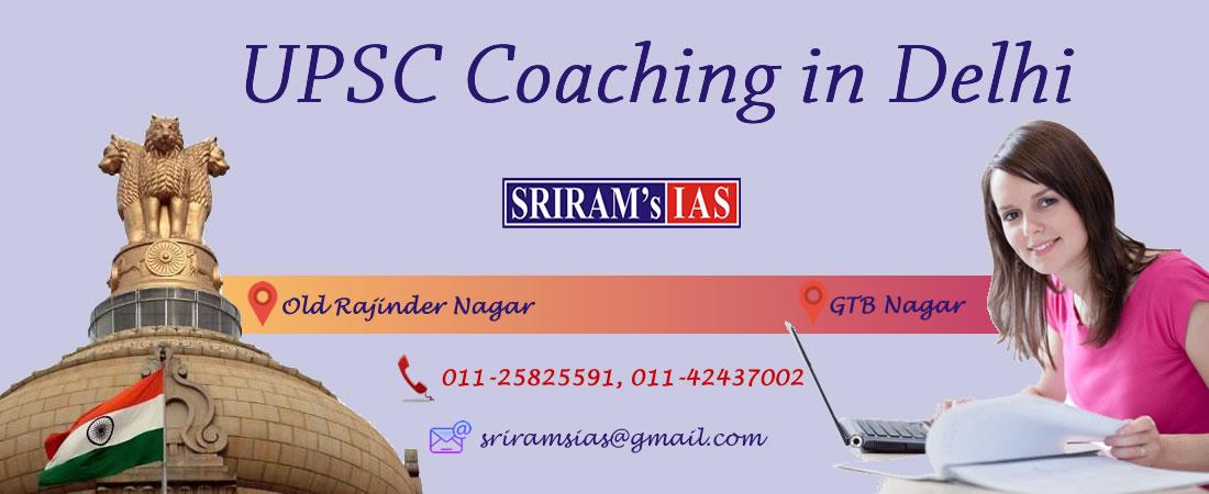 UPSC Coaching in Delhi